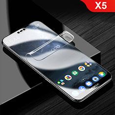 Schutzfolie Displayschutzfolie Panzerfolie Skins zum Aufkleben Full Coverage für Nokia X5 Klar