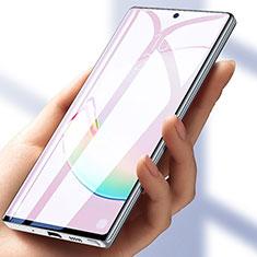 Schutzfolie Displayschutzfolie Panzerfolie Skins zum Aufkleben Full Coverage für Samsung Galaxy Note 10 Plus Klar