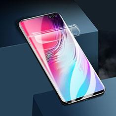Schutzfolie Displayschutzfolie Panzerfolie Skins zum Aufkleben Full Coverage für Samsung Galaxy S10 5G SM-G977B Klar