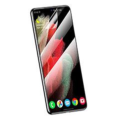 Schutzfolie Displayschutzfolie Panzerfolie Skins zum Aufkleben Full Coverage für Samsung Galaxy S21 Ultra 5G Klar