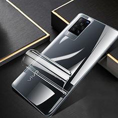 Schutzfolie Displayschutzfolie Panzerfolie Skins zum Aufkleben Full Coverage für Vivo X60 5G Klar