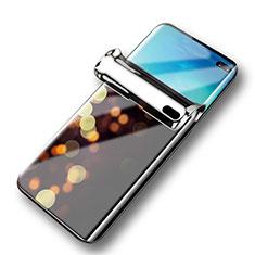Schutzfolie Displayschutzfolie Panzerfolie Skins zum Aufkleben Full Coverage Privacy für Samsung Galaxy S10 5G SM-G977B Klar