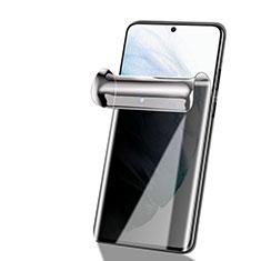 Schutzfolie Displayschutzfolie Panzerfolie Skins zum Aufkleben Full Coverage Privacy für Samsung Galaxy S21 5G Klar