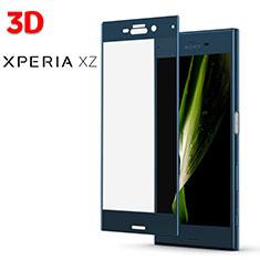 Schutzfolie Displayschutzfolie Panzerfolie Skins zum Aufkleben Gehärtetes Glas Glasfolie 3D für Sony Xperia XZs Blau
