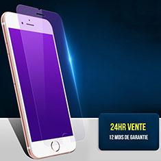 Schutzfolie Displayschutzfolie Panzerfolie Skins zum Aufkleben Gehärtetes Glas Glasfolie Anti Blue Ray B01 für Apple iPhone 8 Blau