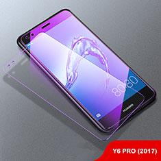 Schutzfolie Displayschutzfolie Panzerfolie Skins zum Aufkleben Gehärtetes Glas Glasfolie Anti Blue Ray B01 für Huawei Enjoy 7 Klar