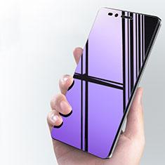 Schutzfolie Displayschutzfolie Panzerfolie Skins zum Aufkleben Gehärtetes Glas Glasfolie Anti Blue Ray B01 für Huawei Honor 5X Blau