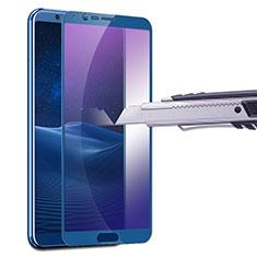 Schutzfolie Displayschutzfolie Panzerfolie Skins zum Aufkleben Gehärtetes Glas Glasfolie Anti Blue Ray B01 für Huawei Honor V10 Blau