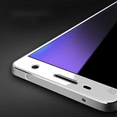 Schutzfolie Displayschutzfolie Panzerfolie Skins zum Aufkleben Gehärtetes Glas Glasfolie Anti Blue Ray B01 für Xiaomi Mi 4 LTE Blau