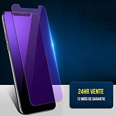 Schutzfolie Displayschutzfolie Panzerfolie Skins zum Aufkleben Gehärtetes Glas Glasfolie Anti Blue Ray B02 für Apple iPhone Xs Max Blau