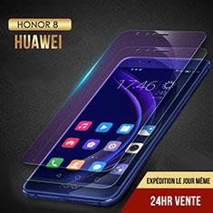 Schutzfolie Displayschutzfolie Panzerfolie Skins zum Aufkleben Gehärtetes Glas Glasfolie Anti Blue Ray B02 für Huawei Honor 8 Klar