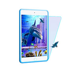 Schutzfolie Displayschutzfolie Panzerfolie Skins zum Aufkleben Gehärtetes Glas Glasfolie Anti Blue Ray F02 für Apple iPad Pro 9.7 Blau