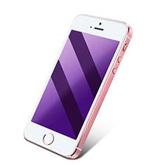 Schutzfolie Displayschutzfolie Panzerfolie Skins zum Aufkleben Gehärtetes Glas Glasfolie Anti Blue Ray für Apple iPhone 4 Blau