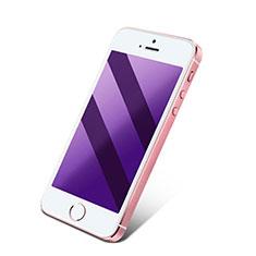Schutzfolie Displayschutzfolie Panzerfolie Skins zum Aufkleben Gehärtetes Glas Glasfolie Anti Blue Ray für Apple iPhone 4S Blau
