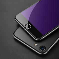 Schutzfolie Displayschutzfolie Panzerfolie Skins zum Aufkleben Gehärtetes Glas Glasfolie Anti Blue Ray für Apple iPhone SE (2020) Blau