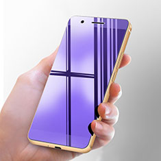 Schutzfolie Displayschutzfolie Panzerfolie Skins zum Aufkleben Gehärtetes Glas Glasfolie Anti Blue Ray für Huawei Honor 6 Blau