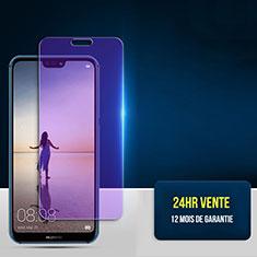 Schutzfolie Displayschutzfolie Panzerfolie Skins zum Aufkleben Gehärtetes Glas Glasfolie Anti Blue Ray für Huawei P20 Lite Klar
