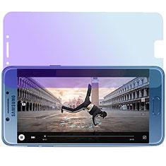 Schutzfolie Displayschutzfolie Panzerfolie Skins zum Aufkleben Gehärtetes Glas Glasfolie Anti Blue Ray für Samsung Galaxy C7 Pro C7010 Blau