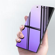 Schutzfolie Displayschutzfolie Panzerfolie Skins zum Aufkleben Gehärtetes Glas Glasfolie Anti Blue Ray für Xiaomi Mi 3 Blau