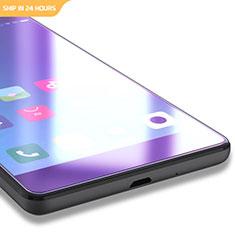 Schutzfolie Displayschutzfolie Panzerfolie Skins zum Aufkleben Gehärtetes Glas Glasfolie Anti Blue Ray für Xiaomi Redmi 3X Blau