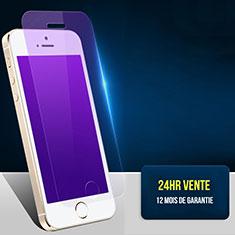 Schutzfolie Displayschutzfolie Panzerfolie Skins zum Aufkleben Gehärtetes Glas Glasfolie Anti Blue Ray L01 für Apple iPhone 5 Klar