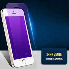 Schutzfolie Displayschutzfolie Panzerfolie Skins zum Aufkleben Gehärtetes Glas Glasfolie Anti Blue Ray L01 für Apple iPhone 5S Klar