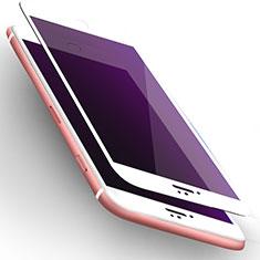 Schutzfolie Displayschutzfolie Panzerfolie Skins zum Aufkleben Gehärtetes Glas Glasfolie Anti Blue Ray L02 für Apple iPhone 6 Weiß