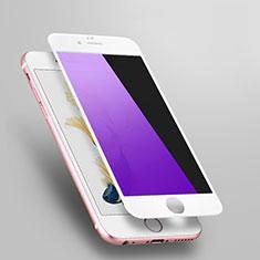 Schutzfolie Displayschutzfolie Panzerfolie Skins zum Aufkleben Gehärtetes Glas Glasfolie Anti Blue Ray L03 für Apple iPhone 6S Weiß