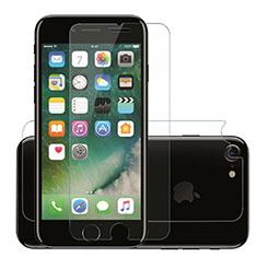 Schutzfolie Displayschutzfolie Panzerfolie Skins zum Aufkleben Gehärtetes Glas Glasfolie F09 für Apple iPhone SE (2020) Klar