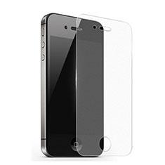Schutzfolie Displayschutzfolie Panzerfolie Skins zum Aufkleben Gehärtetes Glas Glasfolie für Apple iPhone 4 Klar