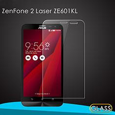 Schutzfolie Displayschutzfolie Panzerfolie Skins zum Aufkleben Gehärtetes Glas Glasfolie für Asus Zenfone 2 Laser 6.0 ZE601KL Klar