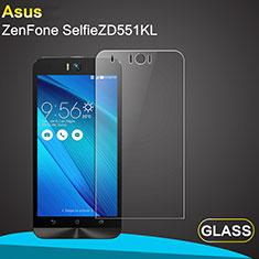 Schutzfolie Displayschutzfolie Panzerfolie Skins zum Aufkleben Gehärtetes Glas Glasfolie für Asus Zenfone Selfie ZD551KL Klar