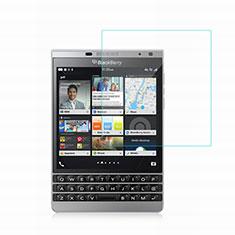 Schutzfolie Displayschutzfolie Panzerfolie Skins zum Aufkleben Gehärtetes Glas Glasfolie für Blackberry Passport Silver Edition Klar