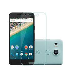Schutzfolie Displayschutzfolie Panzerfolie Skins zum Aufkleben Gehärtetes Glas Glasfolie für Google Nexus 5X Klar