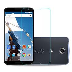 Schutzfolie Displayschutzfolie Panzerfolie Skins zum Aufkleben Gehärtetes Glas Glasfolie für Google Nexus 6 Klar