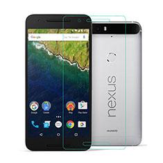 Schutzfolie Displayschutzfolie Panzerfolie Skins zum Aufkleben Gehärtetes Glas Glasfolie für Google Nexus 6P Klar