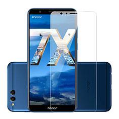 Schutzfolie Displayschutzfolie Panzerfolie Skins zum Aufkleben Gehärtetes Glas Glasfolie für Huawei Honor 7X Klar