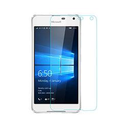 Schutzfolie Displayschutzfolie Panzerfolie Skins zum Aufkleben Gehärtetes Glas Glasfolie für Microsoft Lumia 650 Klar