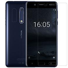 Schutzfolie Displayschutzfolie Panzerfolie Skins zum Aufkleben Gehärtetes Glas Glasfolie für Nokia 5 Klar