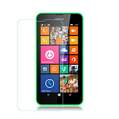 Schutzfolie Displayschutzfolie Panzerfolie Skins zum Aufkleben Gehärtetes Glas Glasfolie für Nokia Lumia 530 Klar