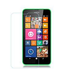 Schutzfolie Displayschutzfolie Panzerfolie Skins zum Aufkleben Gehärtetes Glas Glasfolie für Nokia Lumia 635 Klar
