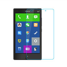 Schutzfolie Displayschutzfolie Panzerfolie Skins zum Aufkleben Gehärtetes Glas Glasfolie für Nokia XL Klar