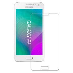 Schutzfolie Displayschutzfolie Panzerfolie Skins zum Aufkleben Gehärtetes Glas Glasfolie für Samsung Galaxy A3 SM-300F Klar