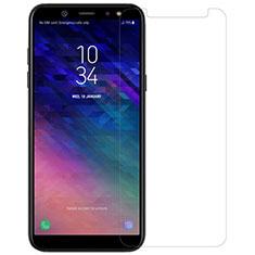 Schutzfolie Displayschutzfolie Panzerfolie Skins zum Aufkleben Gehärtetes Glas Glasfolie für Samsung Galaxy A6 (2018) Dual SIM Klar