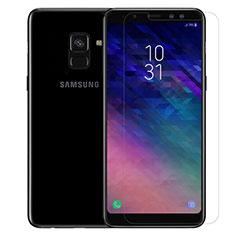 Schutzfolie Displayschutzfolie Panzerfolie Skins zum Aufkleben Gehärtetes Glas Glasfolie für Samsung Galaxy A8 (2018) Duos A530F Klar