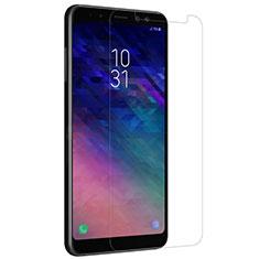Schutzfolie Displayschutzfolie Panzerfolie Skins zum Aufkleben Gehärtetes Glas Glasfolie für Samsung Galaxy A8+ A8 Plus (2018) Duos A730F Klar