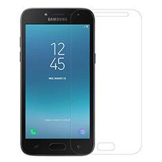 Schutzfolie Displayschutzfolie Panzerfolie Skins zum Aufkleben Gehärtetes Glas Glasfolie für Samsung Galaxy J2 Pro (2018) J250F Klar