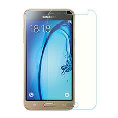 Schutzfolie Displayschutzfolie Panzerfolie Skins zum Aufkleben Gehärtetes Glas Glasfolie für Samsung Galaxy J3 (2016) J320F J3109 Klar