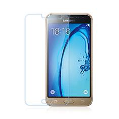 Schutzfolie Displayschutzfolie Panzerfolie Skins zum Aufkleben Gehärtetes Glas Glasfolie für Samsung Galaxy J3 Klar