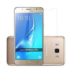 Schutzfolie Displayschutzfolie Panzerfolie Skins zum Aufkleben Gehärtetes Glas Glasfolie für Samsung Galaxy J7 (2016) J710F J710FN Klar